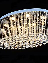 cheap -LED Crystal Chandelier Luxury Ceiling Light Modern K9 Flush Mount Light Raindrop Chandelier for Hotel Bedroom Dining Room Living Room Ceiling Pendant Lights Fixtures