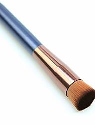 cheap -mjchzs ash foundation brush flat head oblique head wooden handle liquid foundation makeup brush bb cream concealer (color : a)