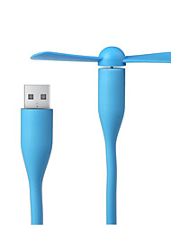 cheap -Creative USB Fan Flexible Portable Mini Fan and USB LED Light Lamp For Power Bank & Notebook & Computer Summer Gadget