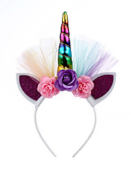 cheap -manufacturers european and american creative party headbands, children's unicorn headbands, baby unicorn headbands, baby headbands