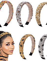 cheap -factory natural crystal stone headband dongdaemun retro sponge headband amazon source wholesale