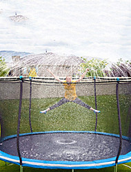 cheap -Trampoline Sprinkler-Trampoline Sprinkler for Kids Outdoor Spary Water park Fun Summer Outdoor Water Games Yard Toys Sprinklers Backyard Water Park for Boys Girls 39 ft