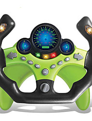 cheap -Kids Electric Early Education Simulation Steering Wheel Toy Multifunctional High Simulation Car Driving Toy with Music and Light Pretend Driving Toy for Boys and Girls (Sports car)