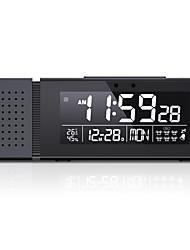 cheap -TS-P30 Home Night Light Sound Light Alarm IR Human Body Induction Digital Clock