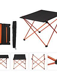 cheap -BEAR SYMBOL Camping Table Lightweight 7075 Aluminium Alloy Super Slim Folding 7075 Aluminium Alloy for Camping Autumn / Fall Winter Black / Red Black / Dark Blue Black / Orange Black / Blue