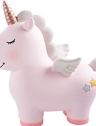 cheap -Piggy Bank / Money Bank Rainbow Unicorn 1 pcs Gift Home Decor Plastic For Kid's Adults' Boys and Girls