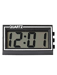 cheap -Black Plastic Small Size Digital LCD Table Car Dashboard Desk Date Time Calendar Small Clock With Calendar Function TS-CD92