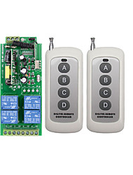 cheap -AC220V 1CH Relay Switch /10A Relay With NO NC COM/Learning Code Receiver For Light/LED Power ON OFF / 433mhz