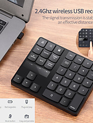 cheap -bluetooth 3.0 wireless numeric keypad 34 keys digital keyboard for accounting teller windows ios mac os android pc tablet laptop