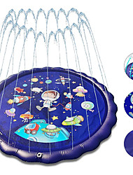 cheap -4-in-1 Splash Pad for Kids 70 INch Outdoor Childrens Water Pad Wading Pool and Sprinkler and Play Mat for Girls Inflatable Kiddie Swimming Pool Water Toys for Toddlers 12 Months and Up