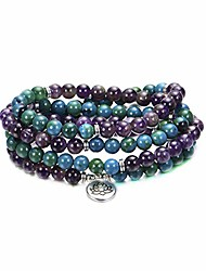cheap -jewellery 108 mala prayer beads wrap bracelet necklace natural gemstone yoga meditation beads bracelet necklace for women men