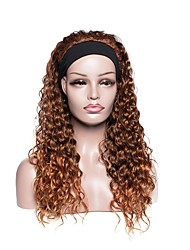 cheap -european and american women's headscarf wigs long curly chemical fiber headgear cross-border source manufacturers wholesale