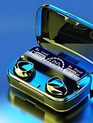 cheap -M10 TWS Wireless Bluetooth 5.1 Earphone 2000mAh Power Bank True Wireless Headphones Sports Bluetooth Headset 9D HIFI Sound Earbuds