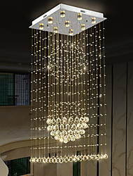 cheap -LED Modern Crystal Chandelier Crystal Ceiling Light Living Room Lustres Decoration Home Lighting Indoor Lamp Pendant Light Fixtures