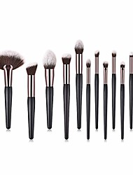 cheap -tools make-up toiletry kit nylon cosmetic brush eye brush 12 in 1 (color : 12-piece)