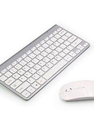 cheap -keyboard wireless 2400dpi mouse 2.4ghz ultra-slim azerty keyboard mouse set, portable silent ergonomic- pink/silver/black