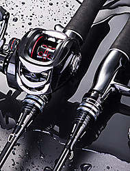 cheap -Fishing Rod and Reel Combo Casting Rod 165/180/210/240/270 cm Carbon Fiber High Speed Lightweight Anti-skidding Medium Light (ML) Medium (M) Freshwater and Saltwater Sea Fishing Lure Fishing / PVC