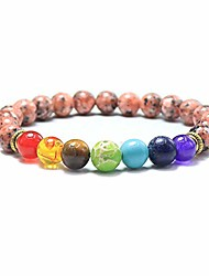 cheap -ksqs 7 chakra yoga balance bracelet healing meditation religious colorful precious natural stones bangle for women&man