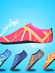 cheap -Women's Men's Water Shoes Printing Nylon Anti-Slip Quick Dry Swimming Diving Surfing Snorkeling Scuba Kayaking - for Kids Adults