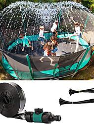 cheap -Trampoline Sprinklers for Kids, Outdoor Water Sprinkler Fun Water Park Summer Toys Game Trampoline Accessories (49.2ft)