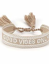 cheap -handmade nepal braided letters pattern wrap bracelets dreamer hope inwrought inspiring friendship handwoven ethnic cotton bangle wristband for women men-good