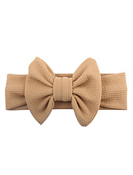 cheap -ins new european and american spring children's wide hairband baby cotton bow headband factory direct wholesale