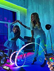 cheap -LED Strip Lights APP Music Control Set 5V LED Strip USB 5050 SMD Flexible RGB Tape LED Ribbon WIFI LED Strip Light TV Backlight