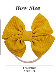 cheap -amazon new children's bowknot windmill bubble cloth baby baby hairband headdress bowknot nylon headband