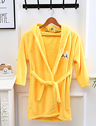 cheap -High Quality Bathrobe for Children Coral Velvet Home Nightgown Cartoon Cute Soft Easy to Dry Hooded Bathrobe
