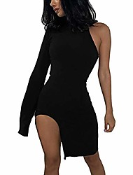 cheap -Women's Sheath Dress Knee Length Dress Nude pink Large quantities of spot goods shipped on the same day Black Brown Half-Sleeve Solid Color Spring & Summer Casual 2021 S M L XL XXL XXXL