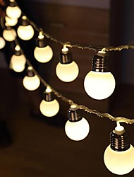 cheap -G50 Retro Bulb LED String Lights 3M 1.5M LED Bulb Light Battery or USB Operated Fairy String Light Christmas Wedding Family Party Holiday Home Decoration Lamp