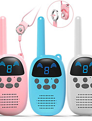 cheap -Kids Toys Walkie Talkies Birthday Child Gift Walky Talky Handheld Two-Way Radio Boys & Girls Toys Age 4-12, for Indoor Outdoor Hiking Adventure Games 3 Pack