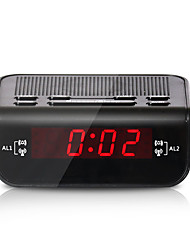 cheap -FM Radio Multi-function Radio Digital Time Display LED Alarm Clocks Radios with EU Plug Sleep function 24 hours-EU PLUG