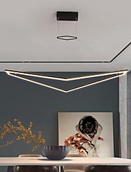 cheap -LED Pendant Light Modern Black White Includes Dimmable Version 80 cm  Chandelier Aluminum Artistic Style Modern Style Painted Finishes Artistic 110-120V 220-240V