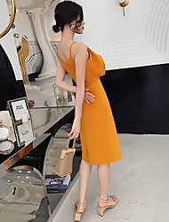 cheap -banquet dress 2020 autumn new temperament 18-year-old adult gift is thin birthday dress women can usually wear