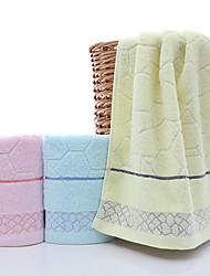 cheap -Pure Cotton Wash Towel Household Water Cube Jacquard Face Towel 3PCS