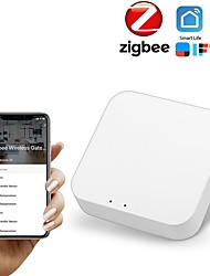 cheap -zigbee tuya smart home, wireless gateway host, smart connected zigbee gateway system, app remote control