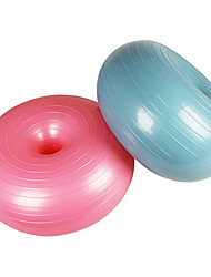 cheap -Donut Yoga Ball Thickened Explosion-proof Sports Fitness Training Ball Home Exercise Yoga Balance Apple Ball Free Pump