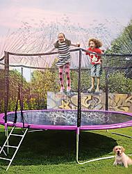 cheap -Trampoline Sprinkler, Outdoor Water Play Sprinklers for Kids Fun Water Park Summer Activities Yard Backyard Sprinkler (32.8ft/49ft)