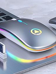 cheap -led backlit rechargeable wireless silent mouse usb mouse ergonomic optical gaming mouse desktop pc laptop mouse