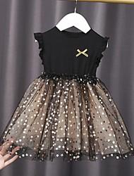 cheap -Kid Girls' Dress Princess Graphic Tulle Summer Dress