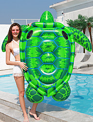 cheap -PVC Inflatable Swimming Floating Bed Indoor Swimming Pool Floating Row Animal Pattern Inflatable Swimming Pool Chair Inflatable Turtle Swimming Ring Water Park