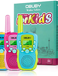 cheap -Walkie Talkies Toys for 3-12 Year Old Boys Walkie Talkies for Kids 22 Channels 2 Way Radio Gifts Toys with Backlit LCD Flashlight 3 KMs Range Gift Toys for Age 3 up Boy and Girls to Outside , Hiking, Camping(3 Pack)
