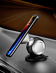cheap -Phone Holder Stand Mount Desk Car Phone Holder Phone Desk Stand Stickup Type Magnetic Phone Holder Aluminum Alloy Phone Accessory iPhone 12 11 Pro Xs Xs Max Xr X 8 Samsung Glaxy S21 S20 Note20