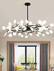 cheap -LED Pendant Light Chandelier Black Gold 18/30/36/45/54 Heads Sputnik Design Single Design Chandelier Metal Sputnik Painted Finishes Contemporary Nordic Style 110-240 V