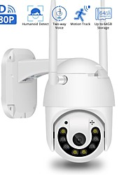 cheap -BESDERSEC 1080P Wifi Home Camera Cloud Wireless IP Camera Auto Track Home Security Surveillance CCTV max128GB V380