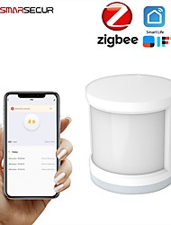 cheap -Human Motion Sensor Zigbee Pir Motion Sensor Human Body Zigbee Infrared Detector Tuya Smart Linkage Phone Remote Monitoring