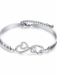 cheap -dec.bells jewellery stepdaughter bracelet bonus daughter gifts from mother in law i didn't give you the gift of life life gave me the gift of you bangle bracelet for wedding birthday