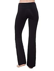 """cheap -bootcut yoga pants high waist black workout leggings for women plus size & #40;l, black 34"""" inseam& #41;"""
