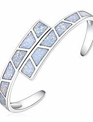cheap -alovesoul opal bracelet - white opal jewelry for women birthstone stitching bracelets gemstone cuff bracelet